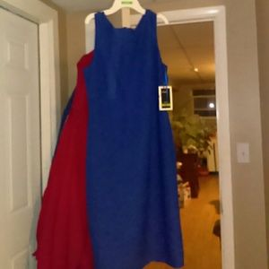 NWT Royal Blue Dress